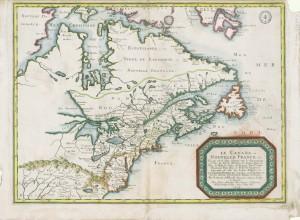 map lecanada ou nouvellefrance
