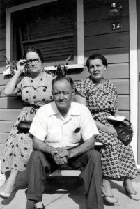 Stella (McDonnell) Lahey, Allan Jerome Moran, and Mary Catherine (Lahey) Moran