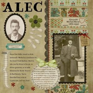 Alec (Alexander Michael) Moran