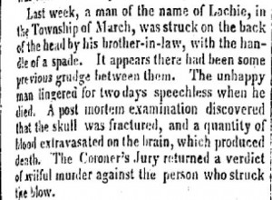 Bytown Gazette, 29 November 1837