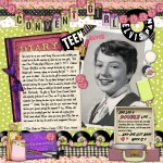 Random image: Scrapbook: Convent Girl, Elvis Fan