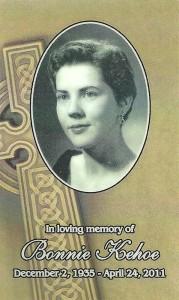 Yvonne Marie McGlade (1935-2011)