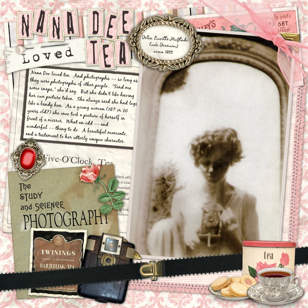 Nana Dee Loved Tea