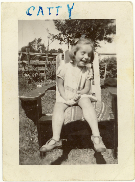Catty/Chatty (Catherine Frances) McGlade, early 1940s