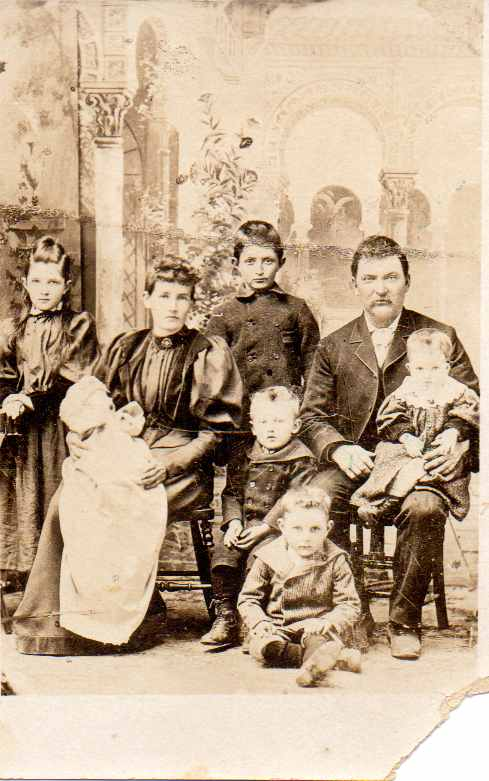 William Killeen and Lucy Armstrong and family, ca. 1896