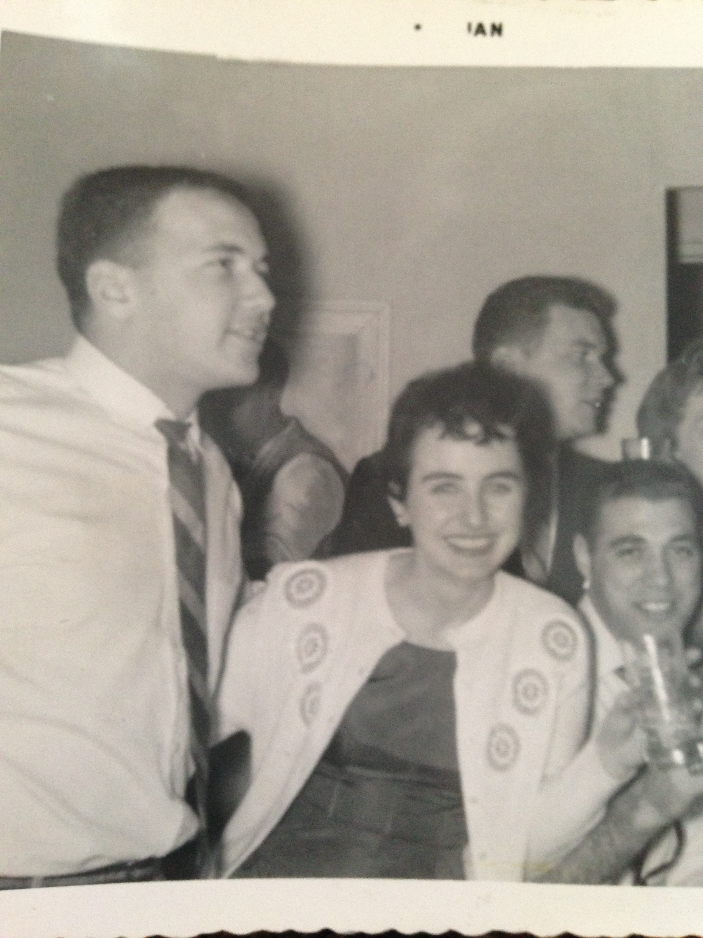 John Alexander Moran, far left, early 1960s.