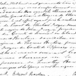 Marriage of Michael Dwyer and Honora Benton, 9 October 1843