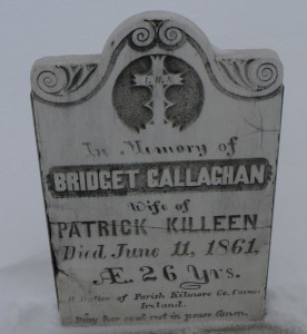 galligan bridget headstone